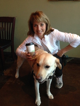 Coffee with a Canine Moment