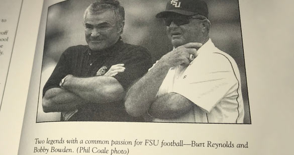 Bobby Bowden and Burt Renolds